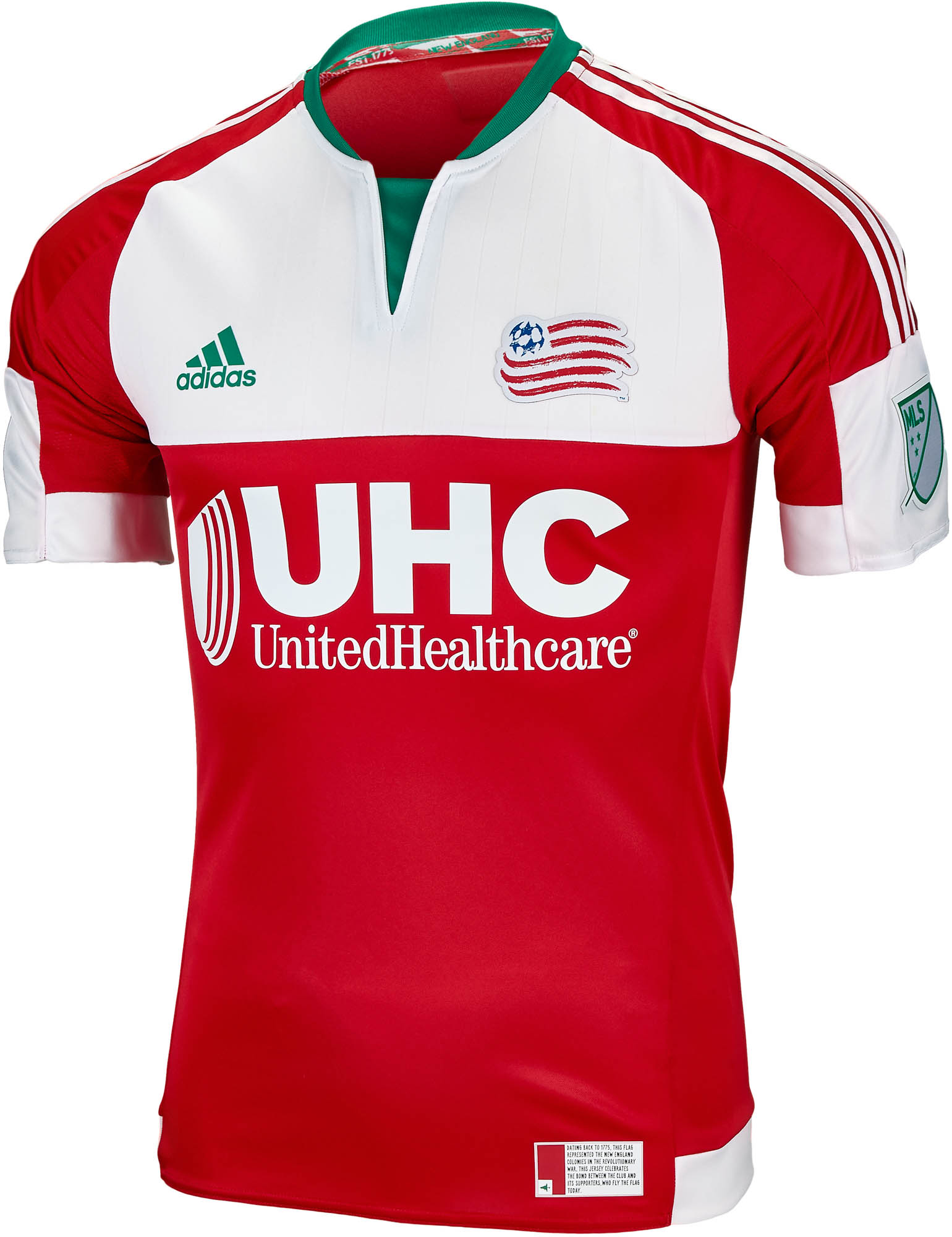 sports shoes 886ef 41435 adidas New England Revolution Authentic Away Jersey 2016
