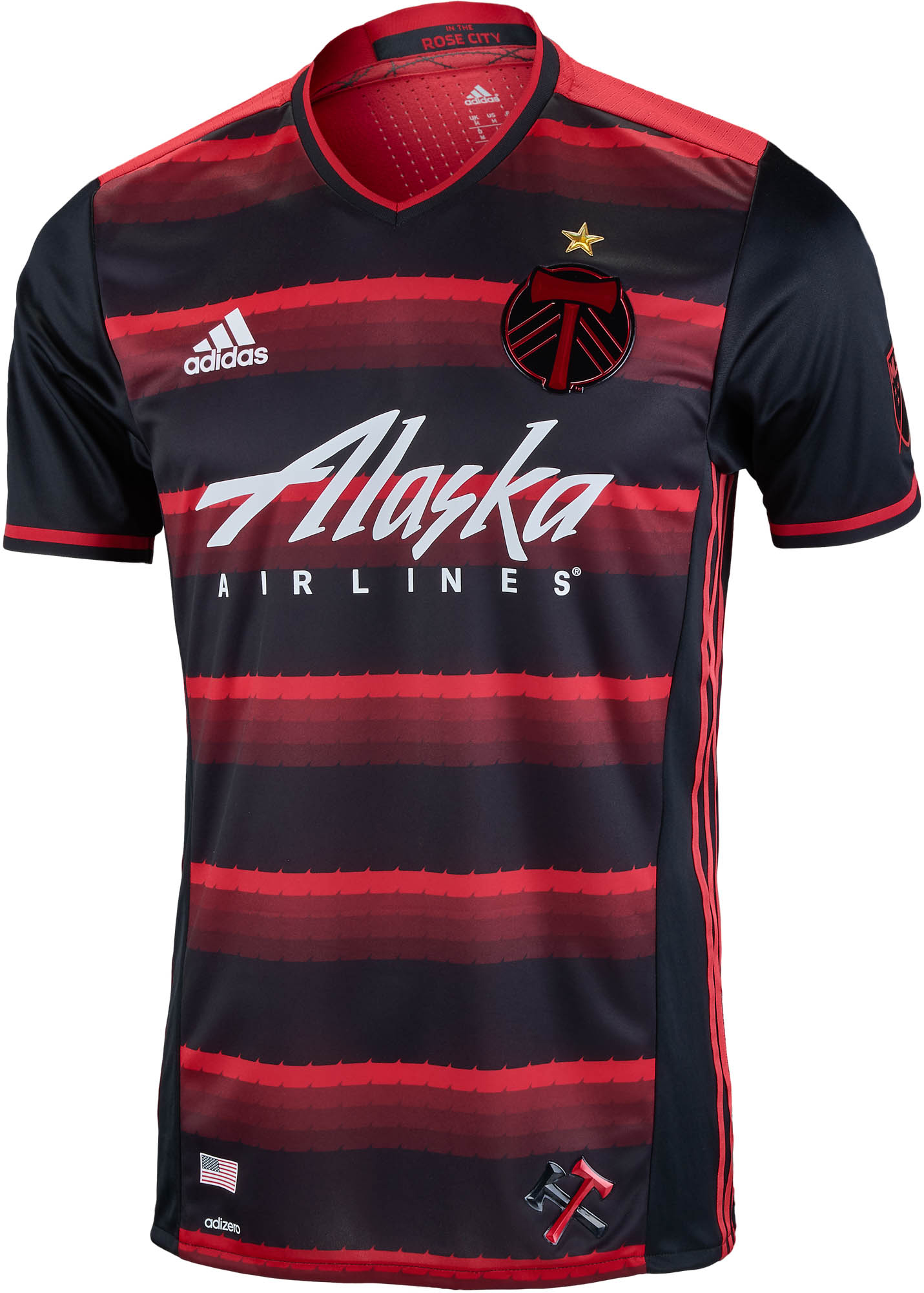 factory authentic 12545 a783f adidas Portland Timbers Authentic Away Jersey 2016