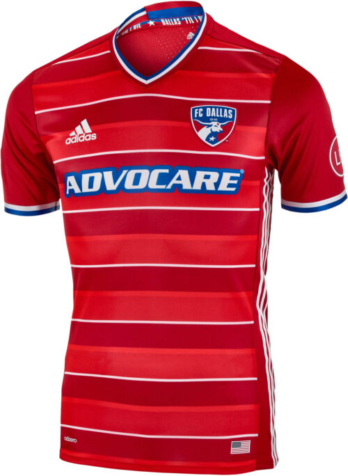 adidas FC Dallas Authentic Home Jersey 2016