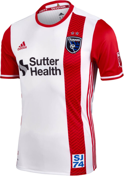 adidas San Jose Earthquakes Authentic Away Jersey 2016