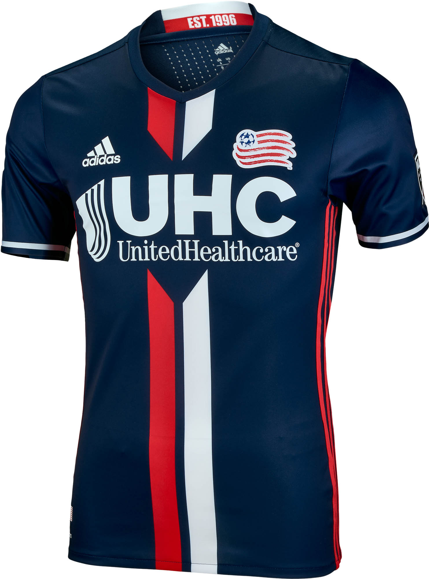 the latest ce57e a5a71 adidas New England Revolution Authentic Home Jersey 2016