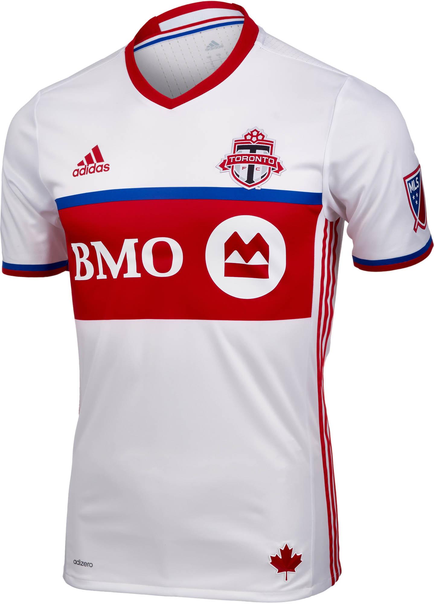 pretty nice 860af b4913 adidas Toronto FC Authentic Away Jersey 2016