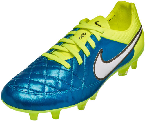 Nike Women's Tiempo Legend V FG Soccer Cleats – Blue Lagoon