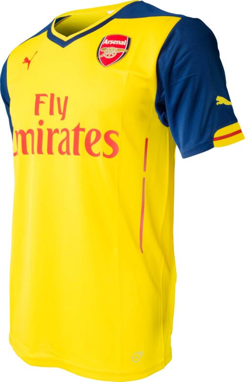 PUMA Arsenal Away Jersey 2014-2015