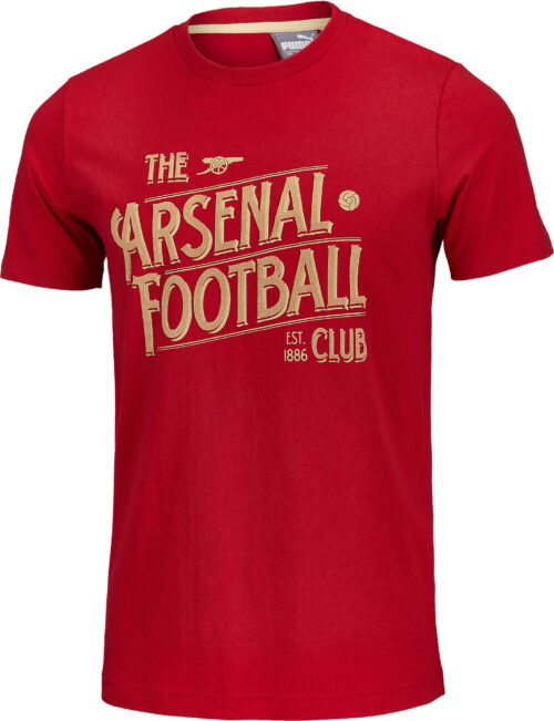PUMA Arsenal Fan Tee – Chili Pepper