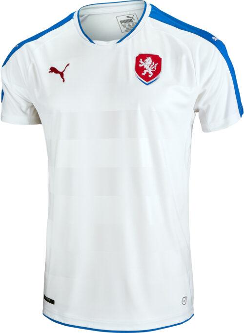 PUMA Czech Republic Away Jersey 2015-16