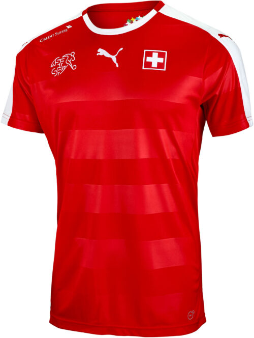 PUMA Switzerland Home Jersey 2015-16