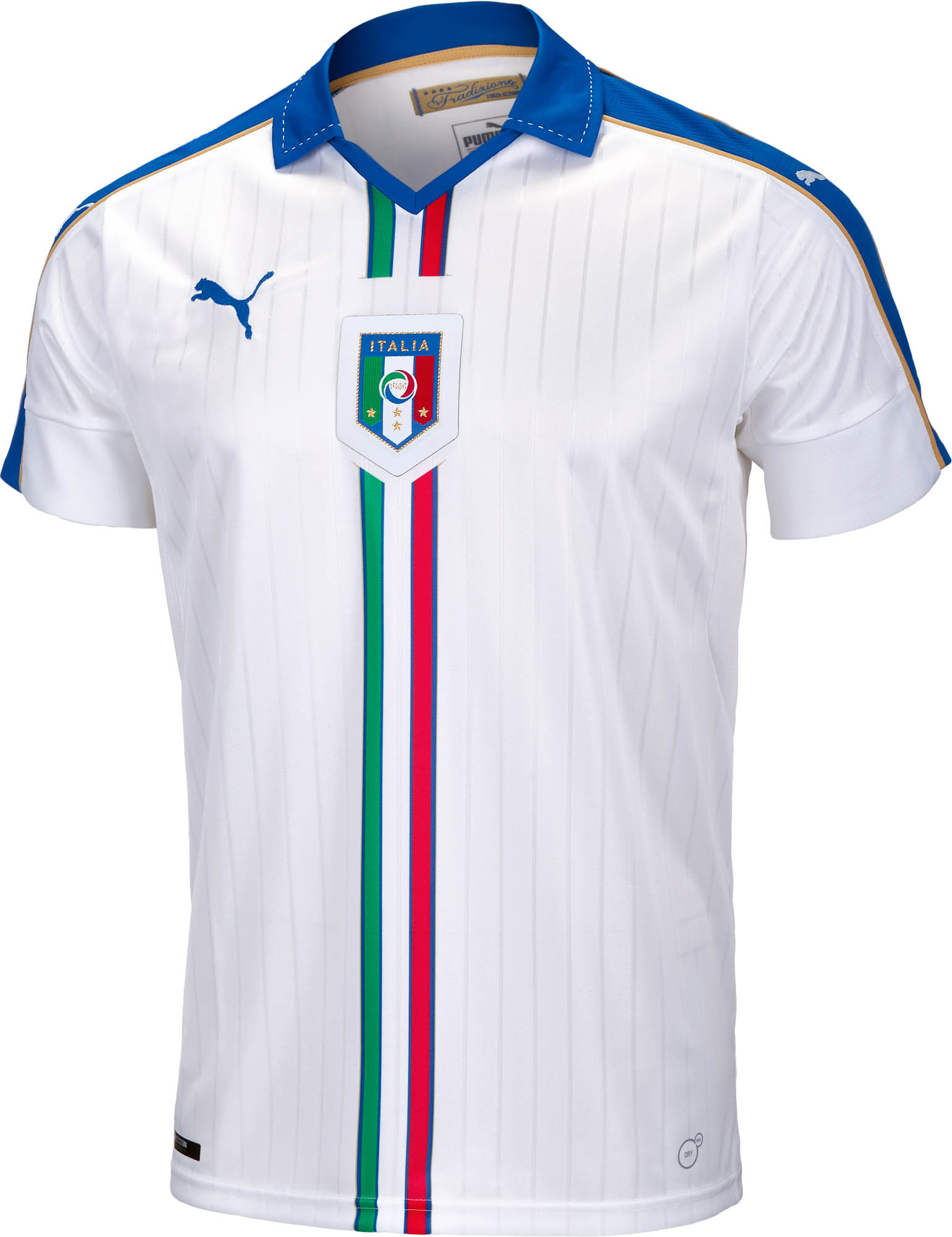 more photos e2774 3e567 PUMA Italy Away Jersey 2015