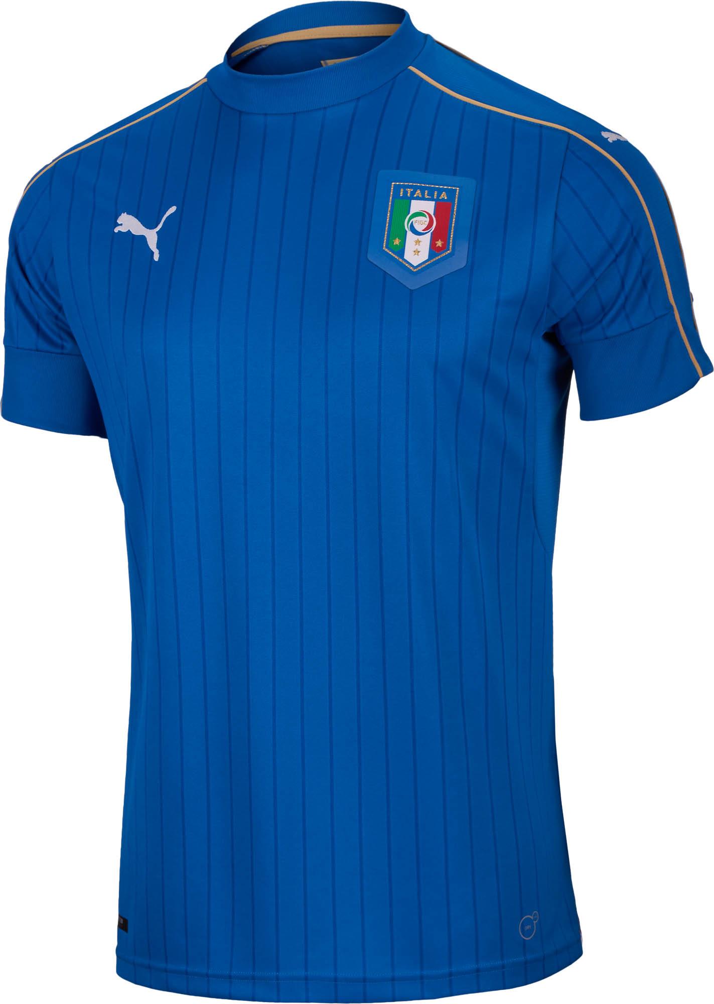 55085dfab Puma Youth Italy Home Jersey - 2016 Italy Soccer Jerseys