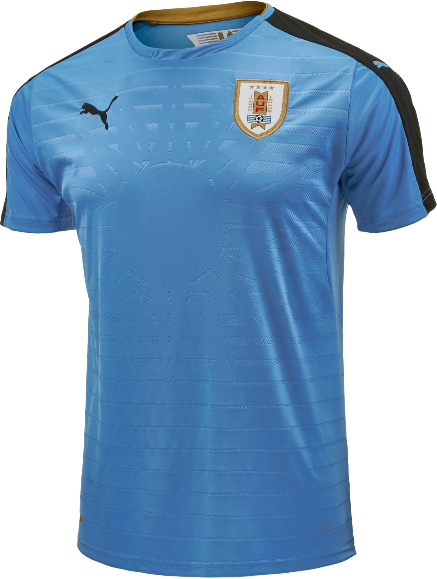 Puma Uruguay Home Jersey - 2016 Uruguay Soccer Jerseys 95222c546