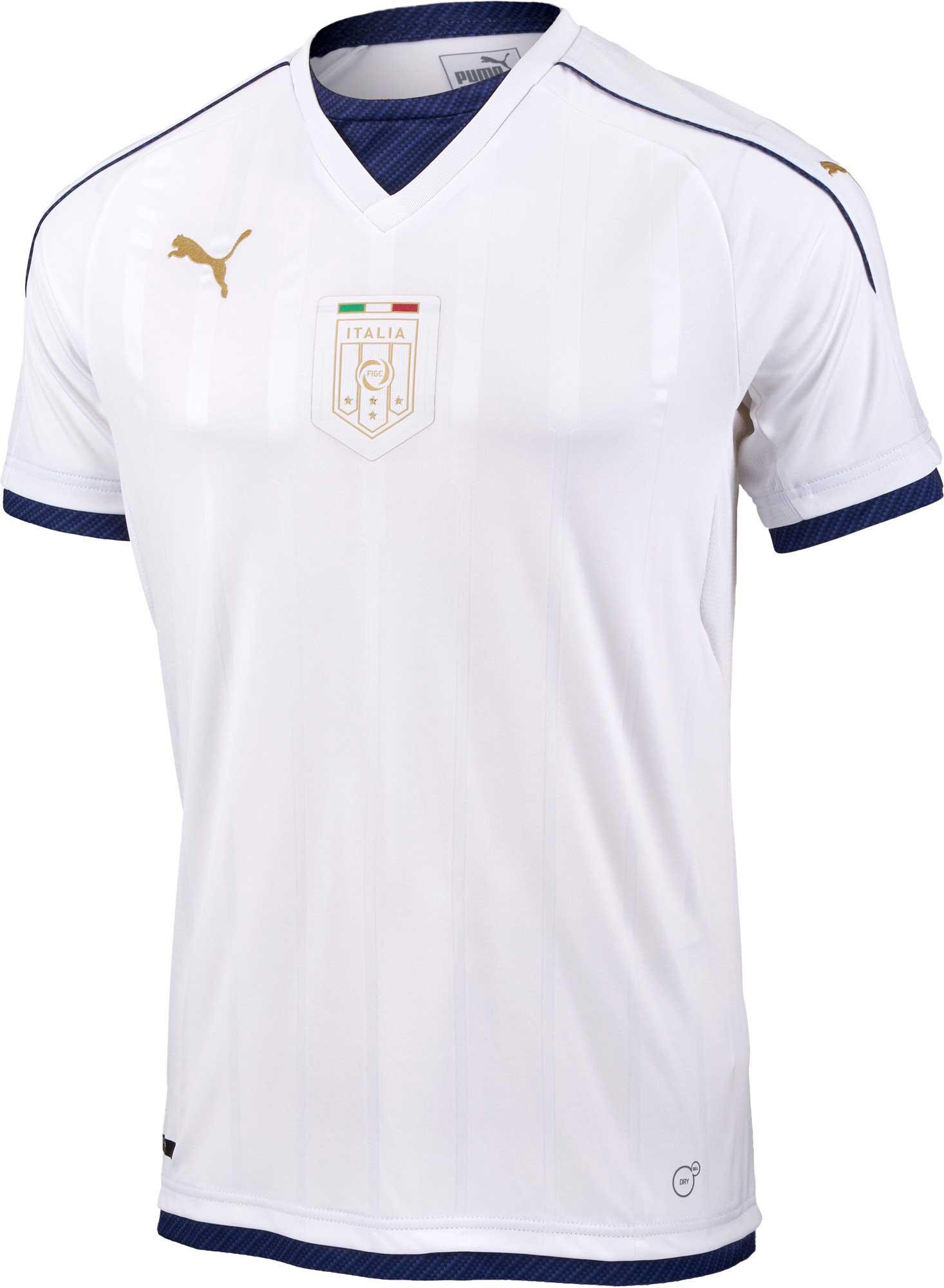 ec820b6a0 Puma Italy Tribute Away Jersey 2016 17 - Italy Jersey
