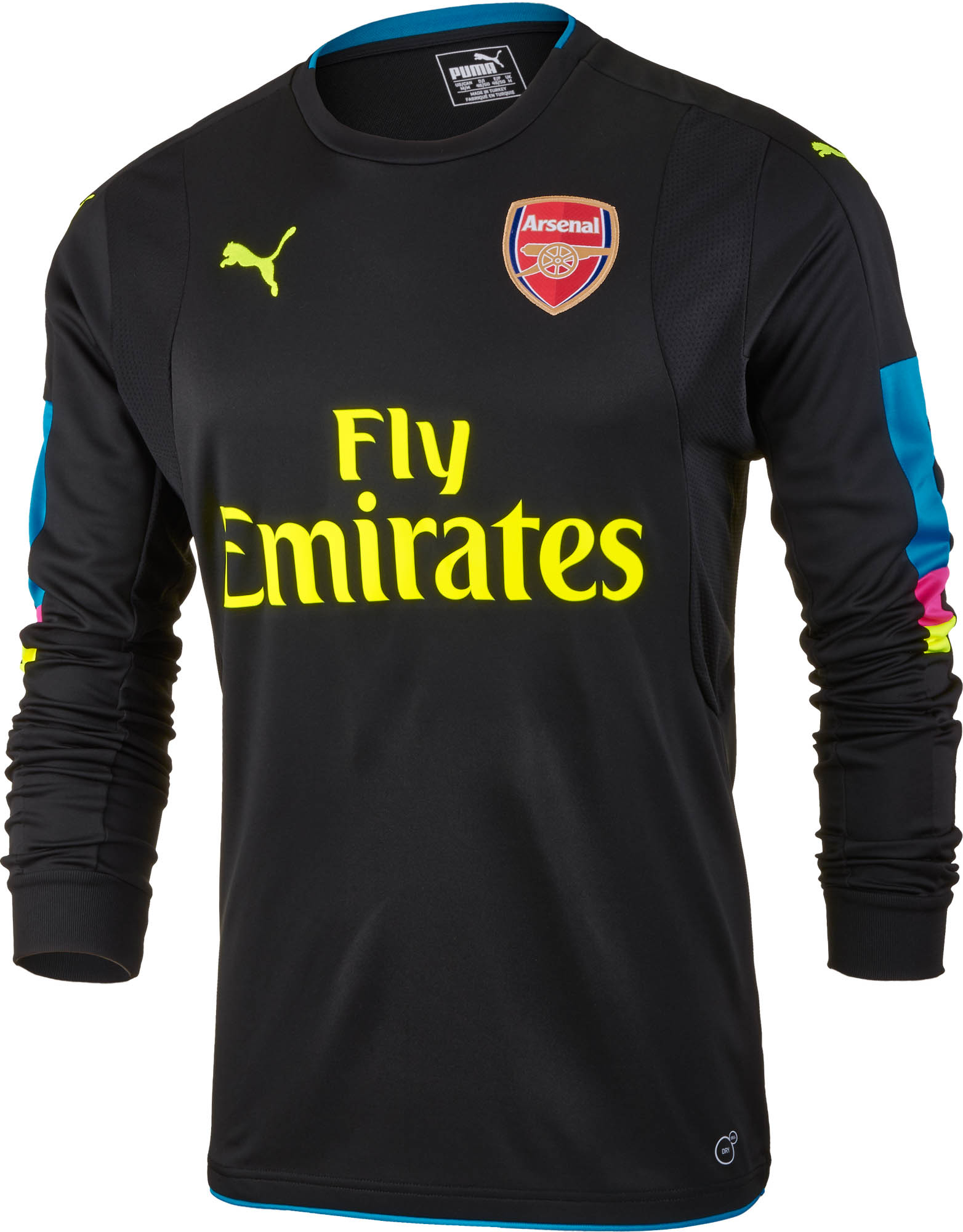 cheap for discount 74217 47dd9 PUMA Arsenal Goalkeeper Jersey 2016-17