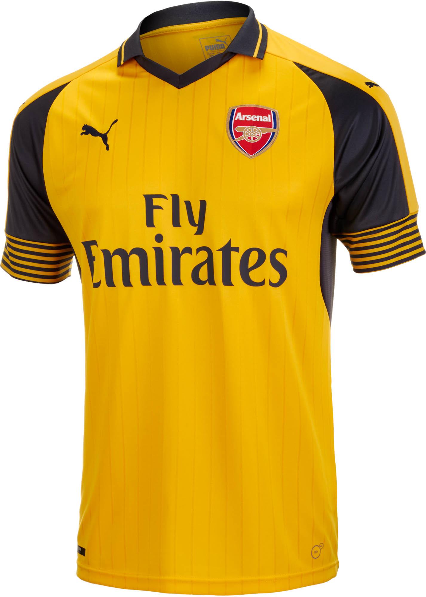 40e5c1f00 Puma Kids Arsenal Away Jersey - 2016 Arsenal Youth Jerseys
