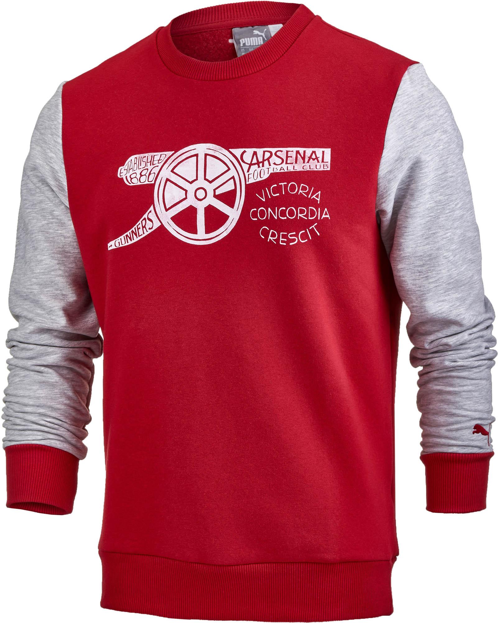 Puma Arsenal Fan Sweatshirt - SoccerPro.com