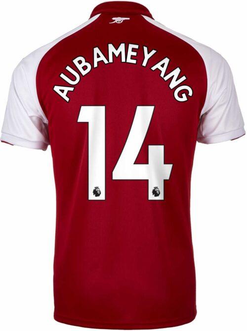2017/18 Puma Aubameyang Arsenal Home Jersey