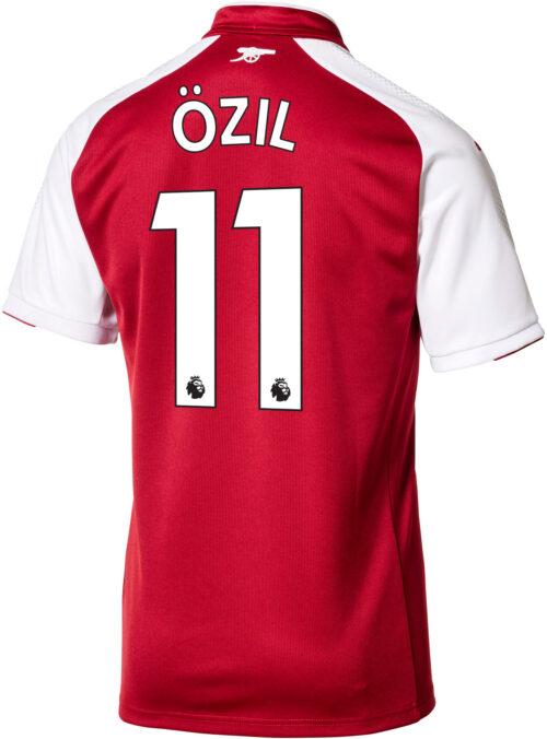 2017/18 Puma Mesut Ozil Arsenal Home Jersey