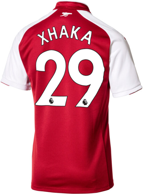 2017/18 Puma Granit Xhaka Arsenal Home Jersey