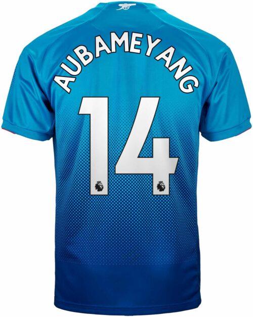 2017/18 Puma Aubameyang Arsenal Away Jersey