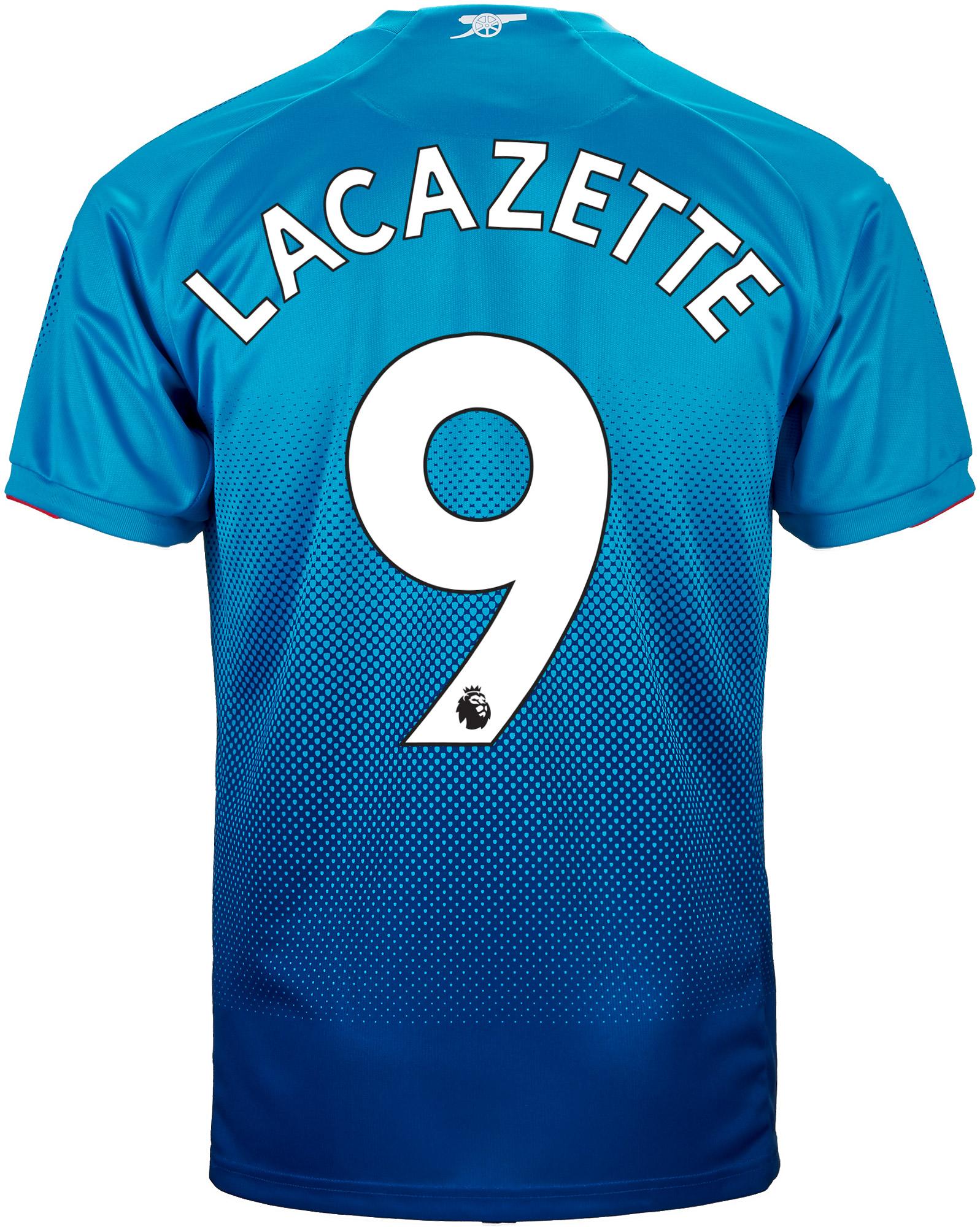 Alexandre Lacazette Arsenal Away Jersey