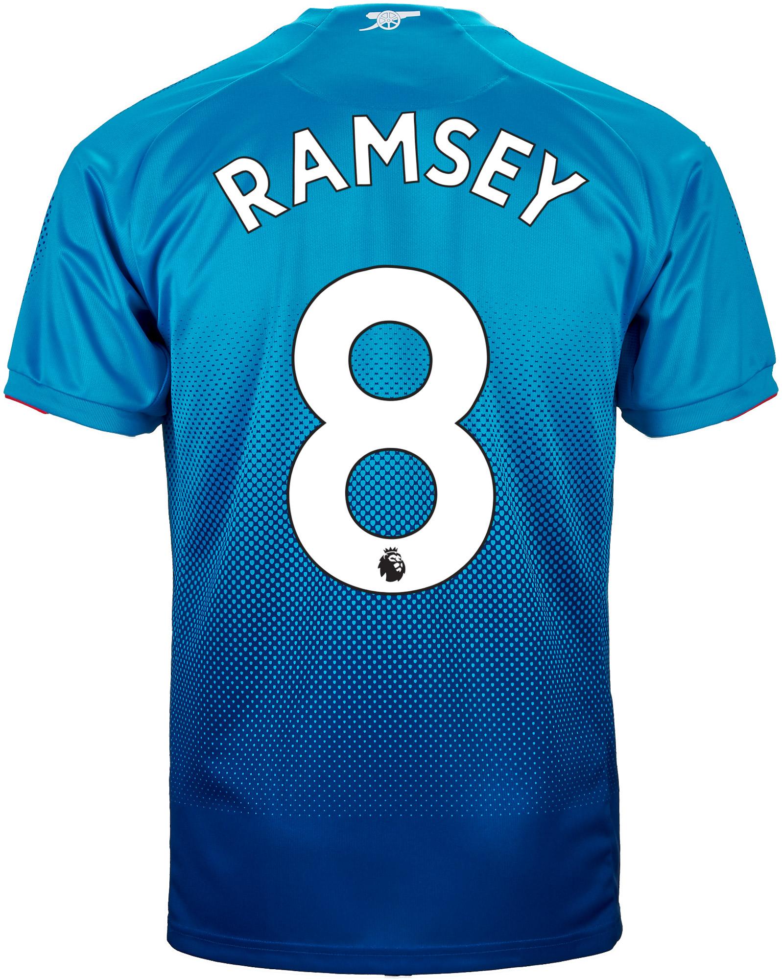 separation shoes 7a93f 0adfc 2017/18 Puma Aaron Ramsey Arsenal Away Jersey - SoccerPro