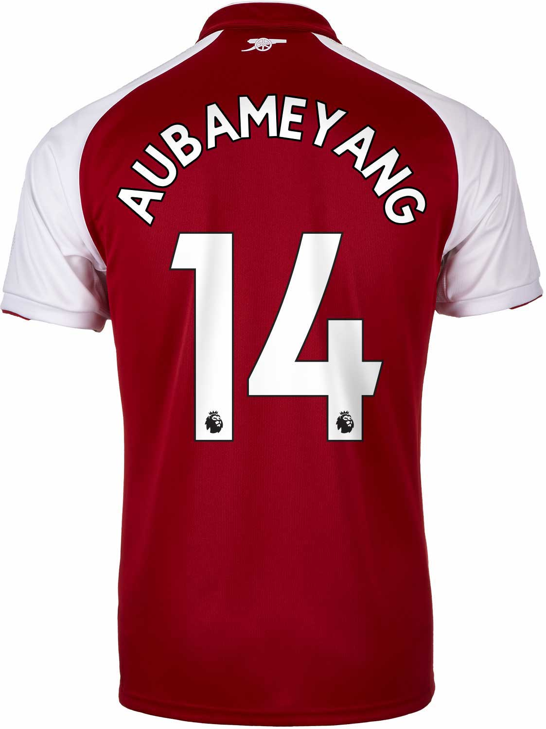 wholesale dealer bebc5 c3ccc 2017/18 Kids Puma Arsenal Aubameyang Home Jersey - SoccerPro