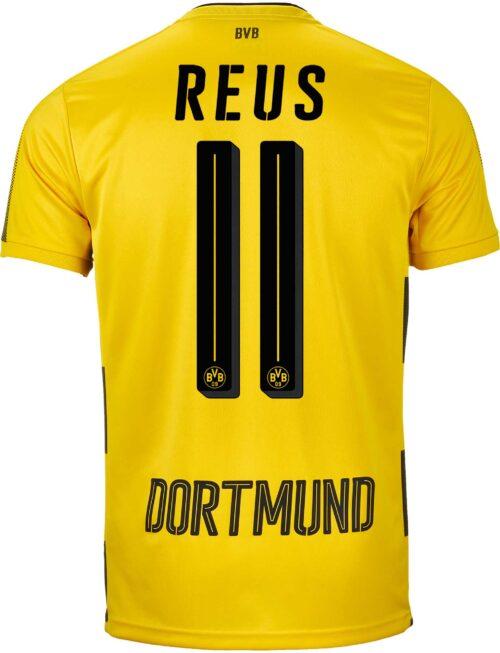 2017/18 Puma Marco Reus Borussia Dortmund Home Jersey