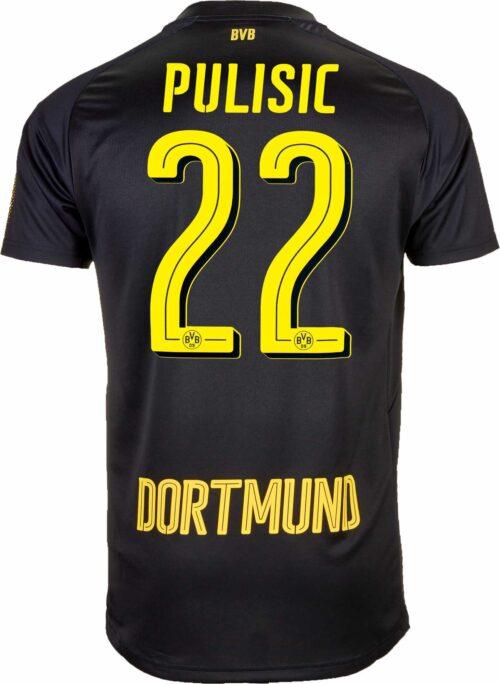 2017/18 Puma Christian Pulisic Borussia Dortmund Away Jersey