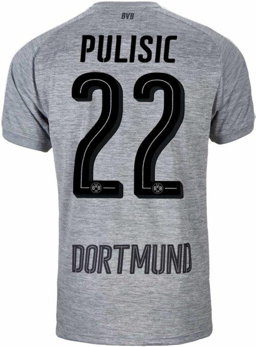 2017/18 Puma Christian Pulisic Borussia Dortmund 3rd Jersey