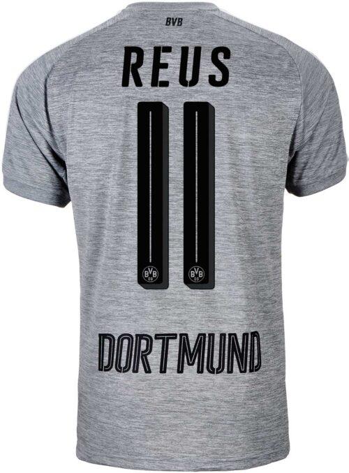 2017/18 Puma Marco Reus Borussia Dortmund 3rd Jersey