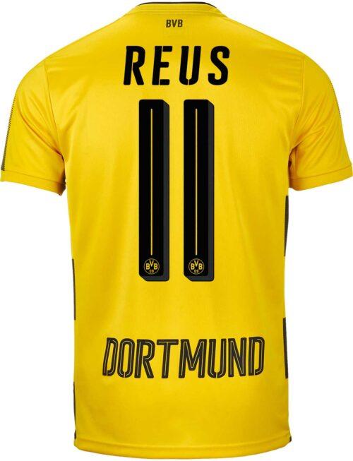 2017/18 Kids Puma Marco Reus Borussia Dortmund Home Jersey