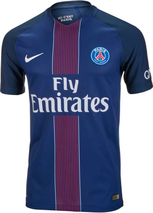 Nike PSG Home Match Jersey 2016-17 NS