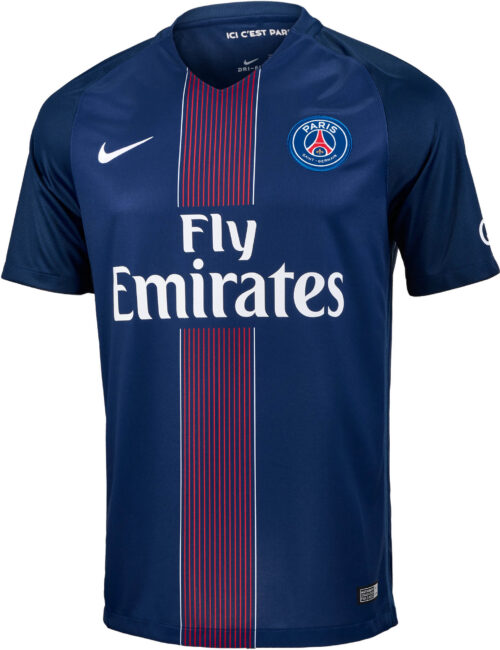 Nike PSG Home Jersey 2016-17 NS