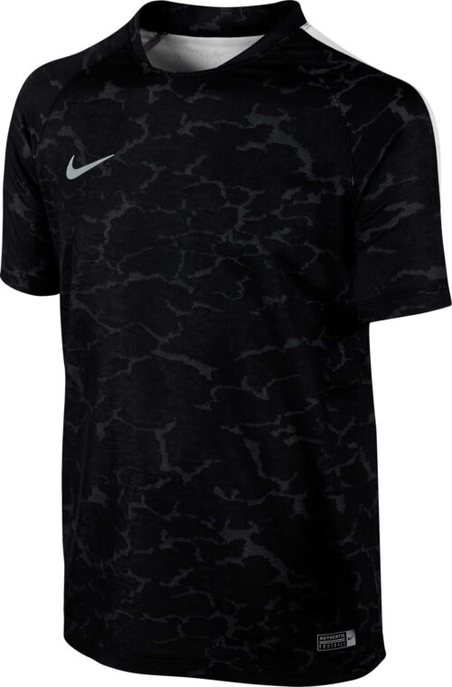 Nike Kids CR7 Flash Training Top – Black/White