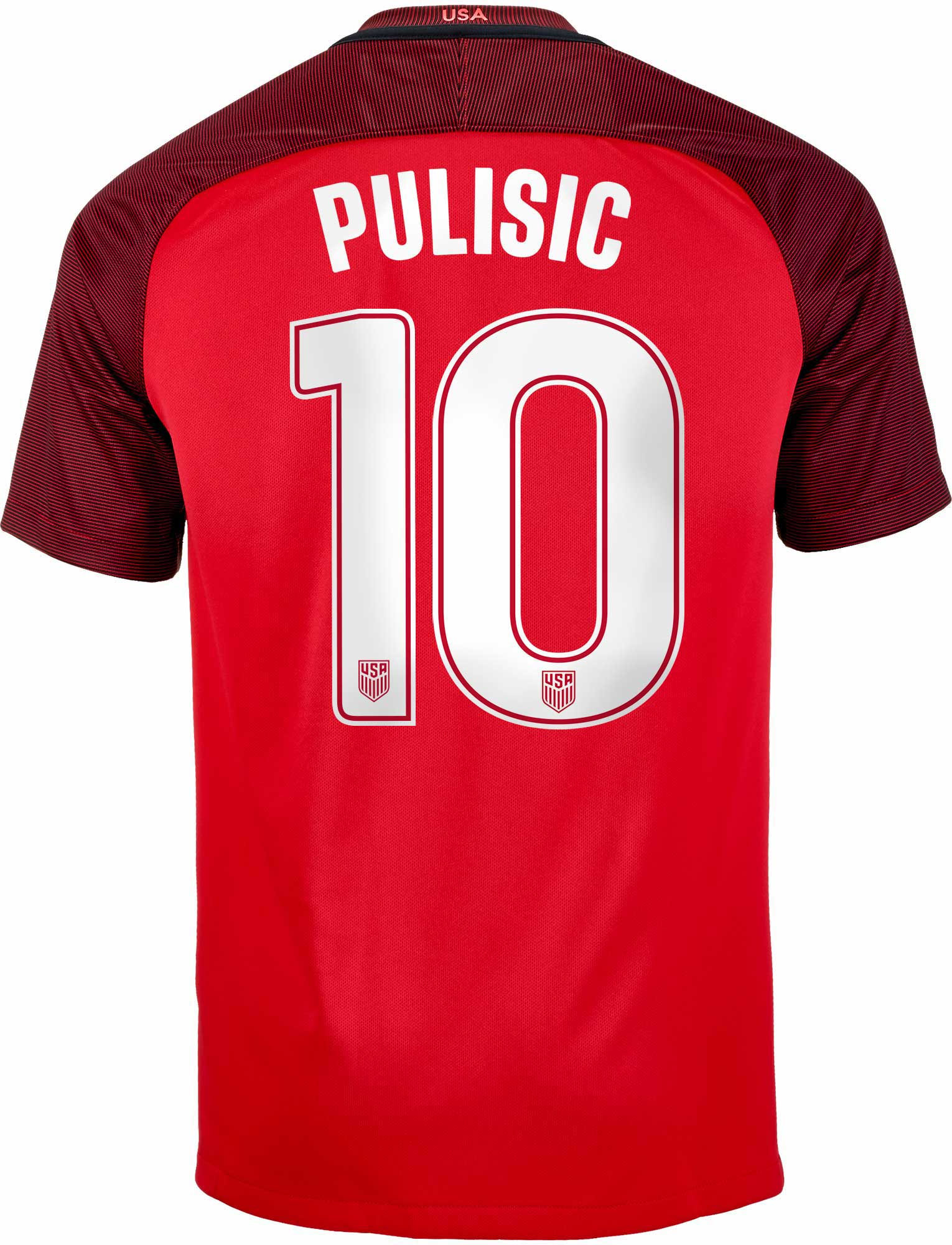 finest selection abb44 52cff Nike Christian Pulisic USA 3rd Jersey 2017-18
