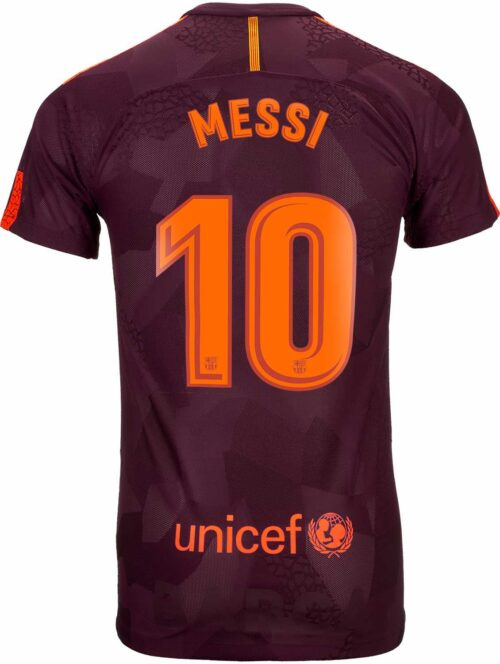 Nike Lionel Messi Barcelona 3rd Match Jersey 2017-18