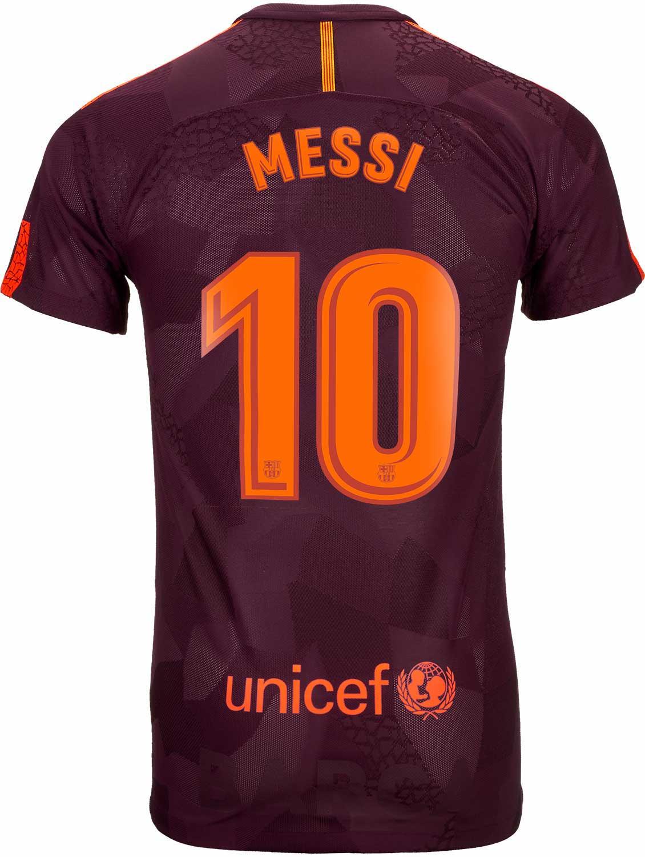 Nike Lionel Messi Barcelona 3rd Match Jersey 2017-18 f01b0e1d9