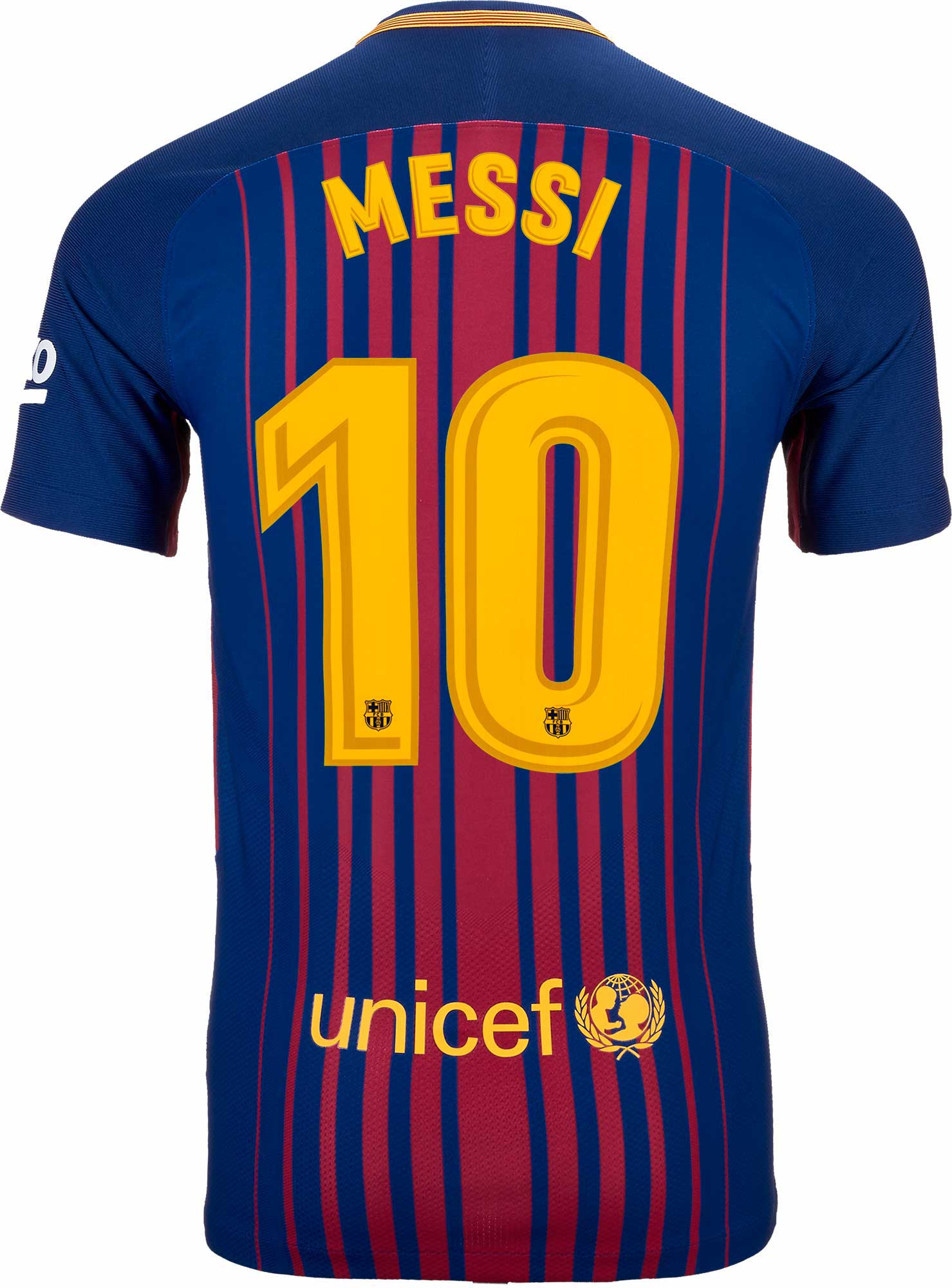 Nike Lionel Messi Barcelona Match Home Jersey 2017-18