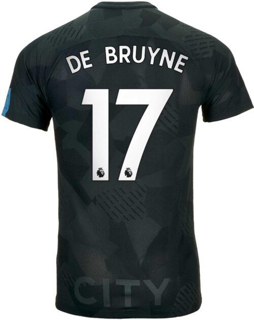 Nike Kevin De Bruyne Manchester City 3rd Match Jersey 2017-18