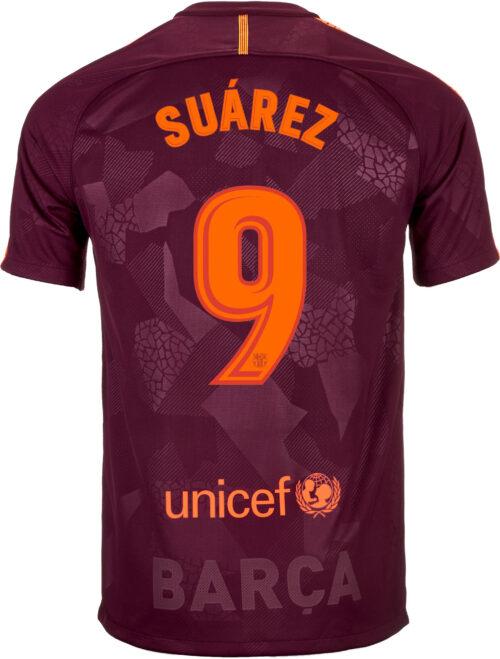 Nike Luis Suarez Barcelona 3rd Jersey 2017-18