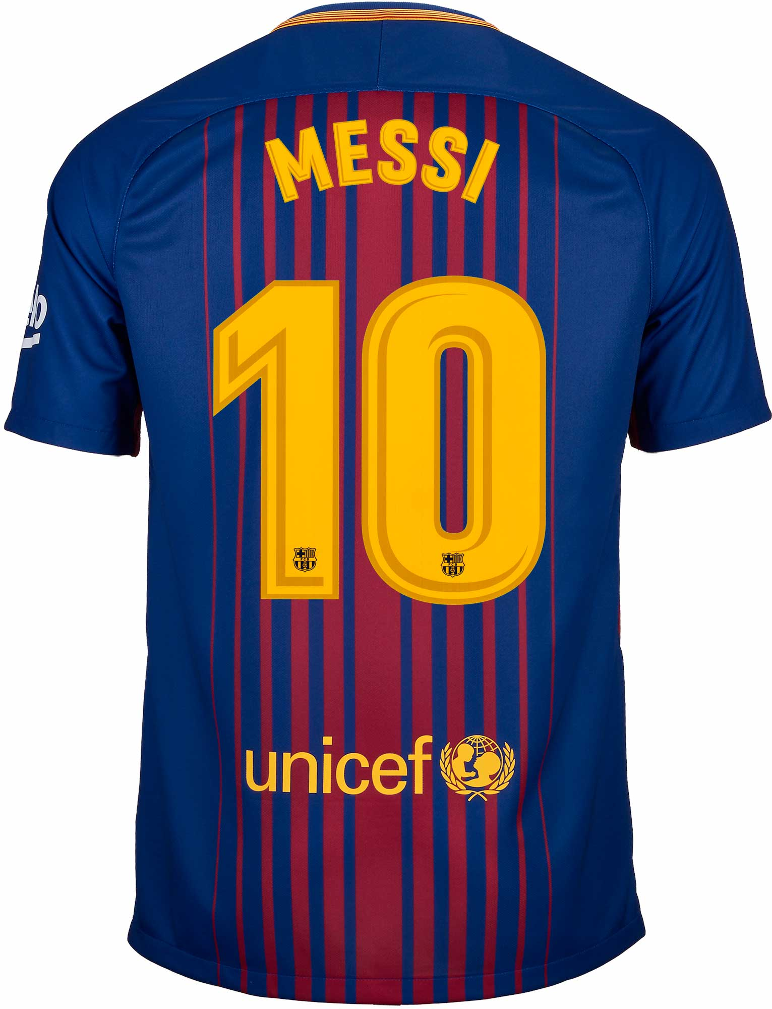 Nike Lionel Messi Barcelona Home Jersey 2017-18