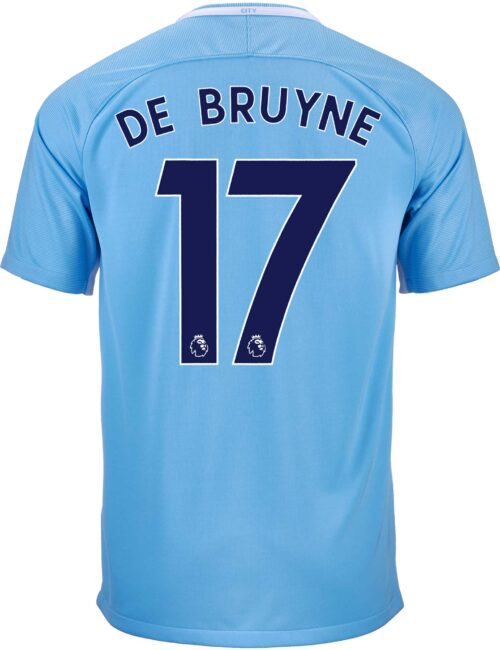 Nike Kevin De Bruyne Manchester City Home Jersey 2017-18