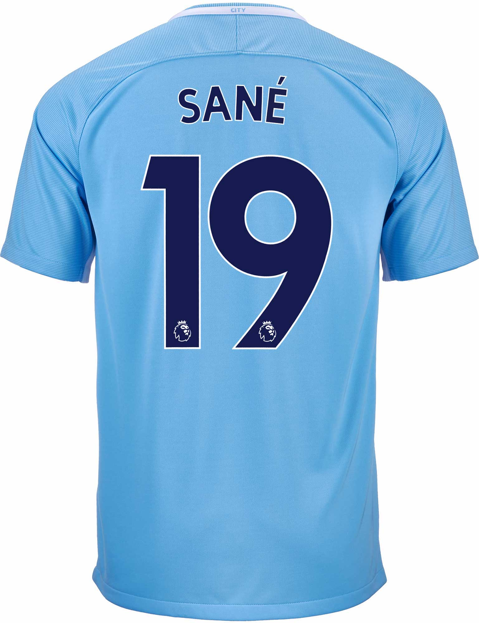 Nike Leroy Sane Manchester City Home Jersey 2017-18 - SoccerPro