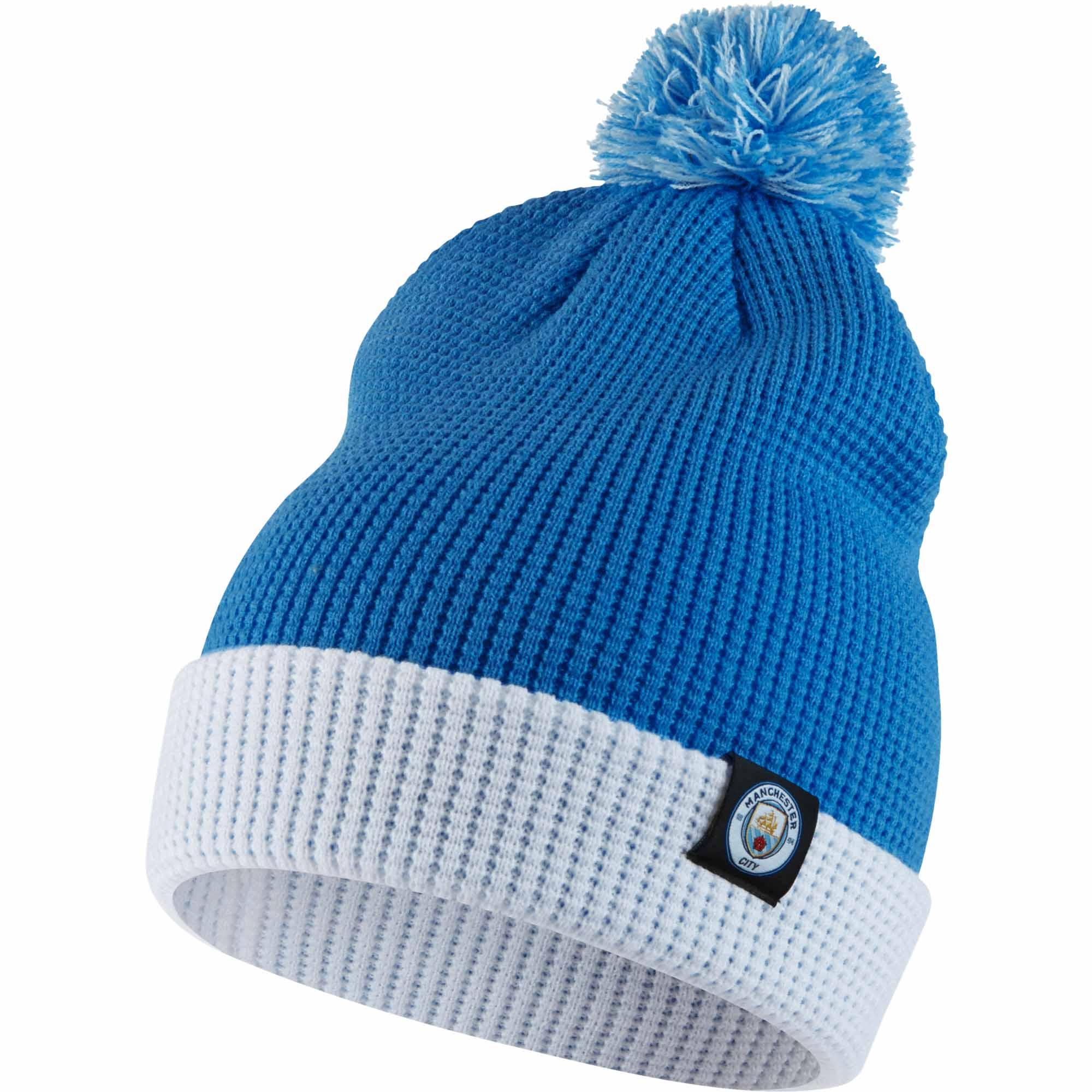 Nike Manchester City Beanie - Blue Nike Soccer Hats 23509cd97be