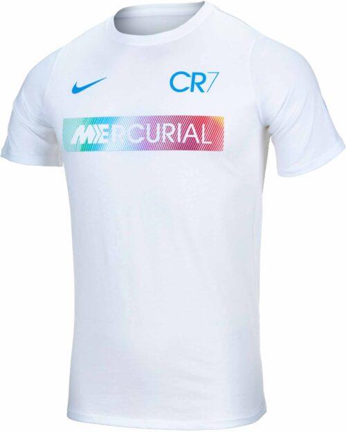 Nike Kids CR7 Mercurial Tee – White