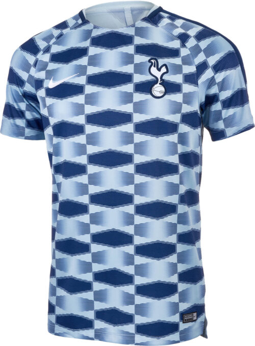 Nike Tottenham Pre-Match Top – Light Armory Blue/Binary Blue