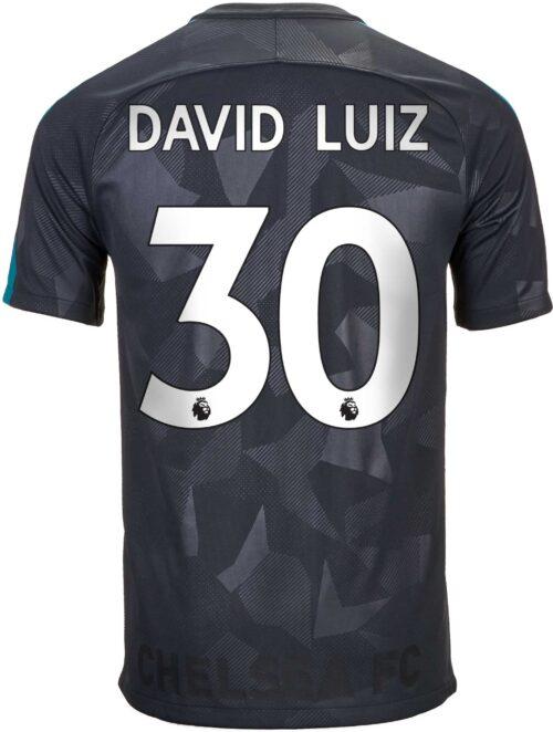 2017/18 Nike David Luiz Chelsea 3rd Jersey