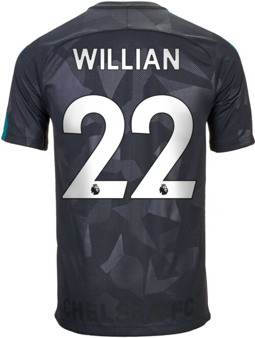 Nike Kids Willian Chelsea 3rd Jersey 2017-18
