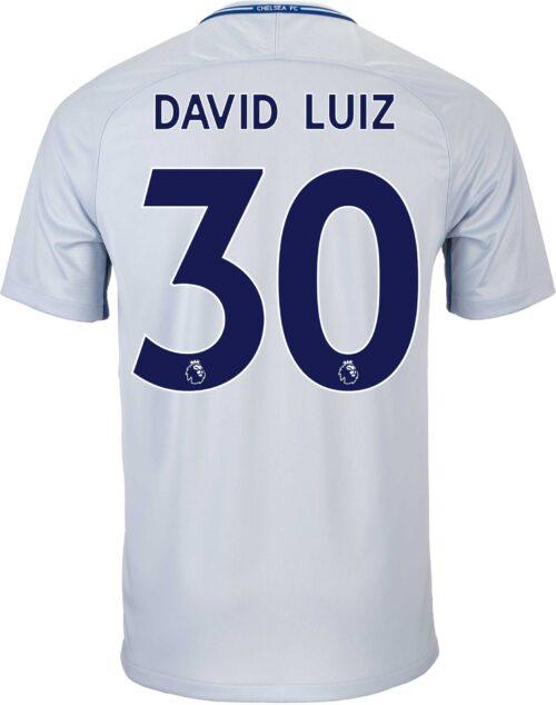 2017/18 Nike Kids David Luiz Chelsea Away Jersey
