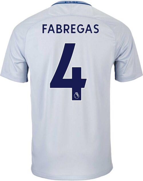 2017/18 Nike Kids Cesc Fabregas Chelsea Away Jersey