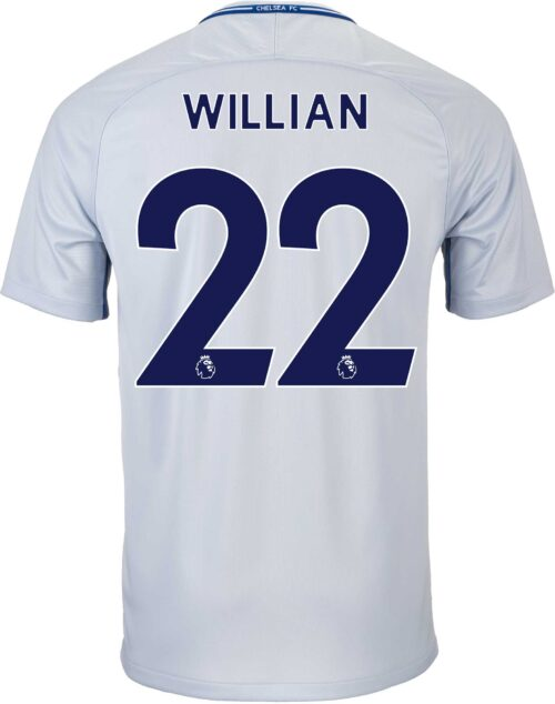 Nike Kids Willian Chelsea Away Jersey 2017-18